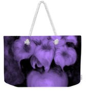 Floral Puffs In Purple Weekender Tote Bag