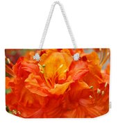 Floral Rhodies Art Prints Orange Rhododendrons Canvas Art Baslee Troutman Weekender Tote Bag