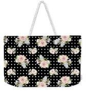 Floral Rose Cluster W Dot Bedding Home Decor Art Weekender Tote Bag