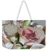 Floral Sand Weekender Tote Bag