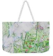 Floral Sketch Weekender Tote Bag