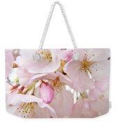 Floral Soft Pink Blossoms Spring Art Baslee Troutman Weekender Tote Bag
