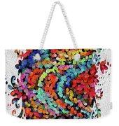 Floral Splash 2 Weekender Tote Bag