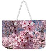 Floral Spring Art Pink Blossoms Canvas Baslee Troutman Weekender Tote Bag