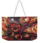 Floral Sun Worship Weekender Tote Bag