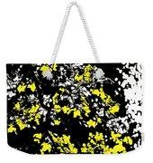 Floral Surprise Weekender Tote Bag