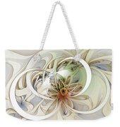 Floral Swirls Weekender Tote Bag
