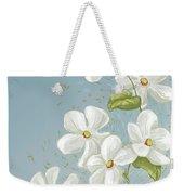 Floral Whorl Weekender Tote Bag