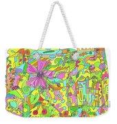 Floral World Weekender Tote Bag