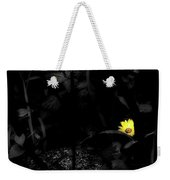 Floral Yellow Peek A Boo Sc Weekender Tote Bag