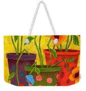 Floralicious Weekender Tote Bag