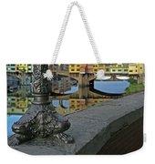 Florence The Old Bridge Weekender Tote Bag