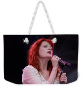 Florence Welch Singer Of Florence And The Machine Performing Live - 002 Weekender Tote Bag