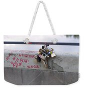 Florentine Love Locks Weekender Tote Bag
