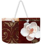 Flores Blancas Square I Weekender Tote Bag
