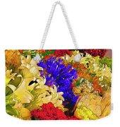 Flores Y Lilas Weekender Tote Bag