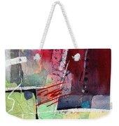Florid Dream - Red Weekender Tote Bag