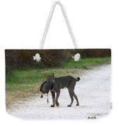 Florida Bobcat Catches An Evening Snack Weekender Tote Bag