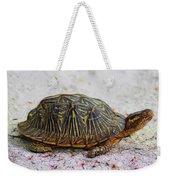 Florida Box Turtle Weekender Tote Bag