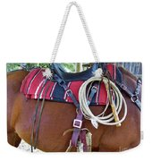 Florida Cracker Cow Whip Weekender Tote Bag