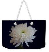Florida Flowers - White Gerbera Ready For Full Bloom Weekender Tote Bag