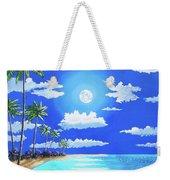 Florida Keys Moon Rise Weekender Tote Bag