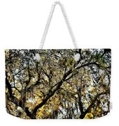 Golden Moss Weekender Tote Bag
