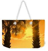 Florida Orange Weekender Tote Bag