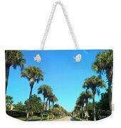 Florida Palms Weekender Tote Bag
