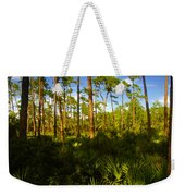 Florida Pine Forest Weekender Tote Bag