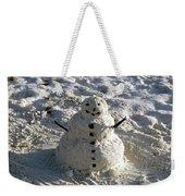 Florida Snowman Weekender Tote Bag