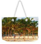 Florida Style Volleyball Weekender Tote Bag