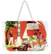 Florida, Vintage Travel Poster Weekender Tote Bag