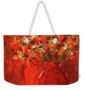 Florists Red Weekender Tote Bag