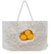 Flour And Eggs Weekender Tote Bag