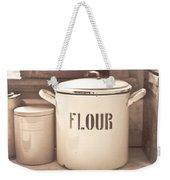 Flour Tin Weekender Tote Bag
