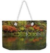 Flow Of Autumn Weekender Tote Bag