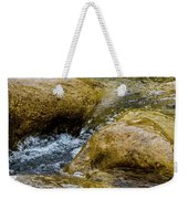 Flow Through And Eddy Weekender Tote Bag