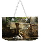 Flower - Wisteria - Fountain Weekender Tote Bag