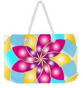 Flower 1317 - Abstract Art Print - Fantasy - Digital Art - Fine Art Print - Flower Print Weekender Tote Bag