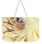 Flower Abstract Light Weekender Tote Bag