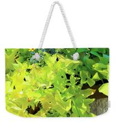 Flower Among Leaves Weekender Tote Bag