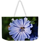 Flower And Bee 2 Weekender Tote Bag