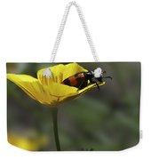 Flower And Bug Weekender Tote Bag