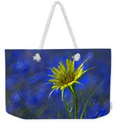 Flower And Flax Weekender Tote Bag