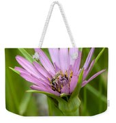 Flower And Friend Weekender Tote Bag