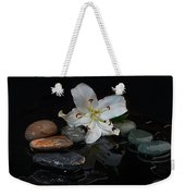 Flower And Stone Weekender Tote Bag