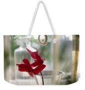 Flower And Window Weekender Tote Bag
