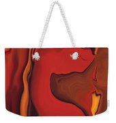 Flower And  Women Weekender Tote Bag