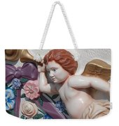 Flower Angel Weekender Tote Bag